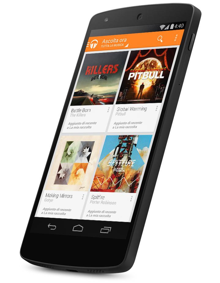 Google Nexus 5 miglior smartphone 2013
