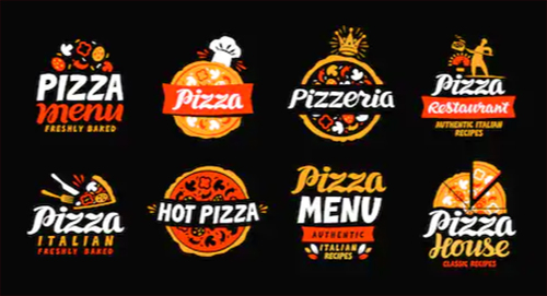 realizzare un logo per pizzeria